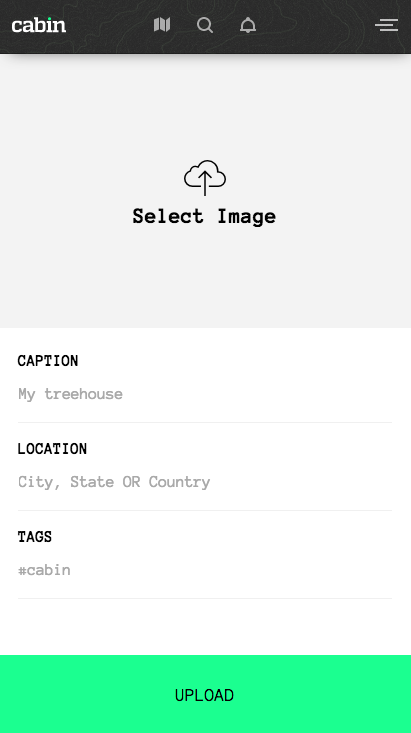 Upload Images to Feed