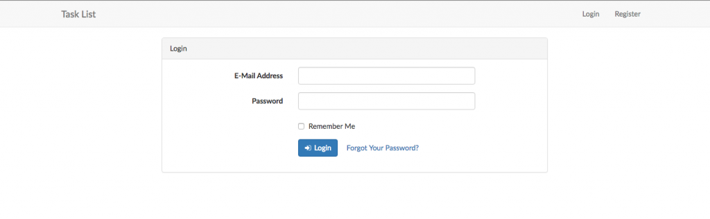 Laravel-Example-App-Login