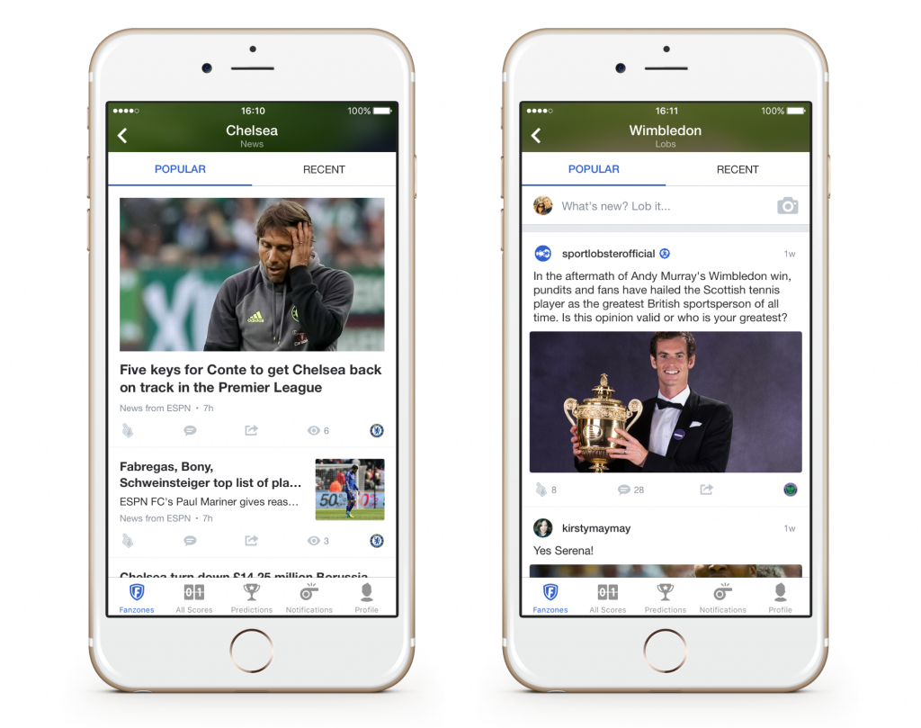 Sportlobster popular and recent feed