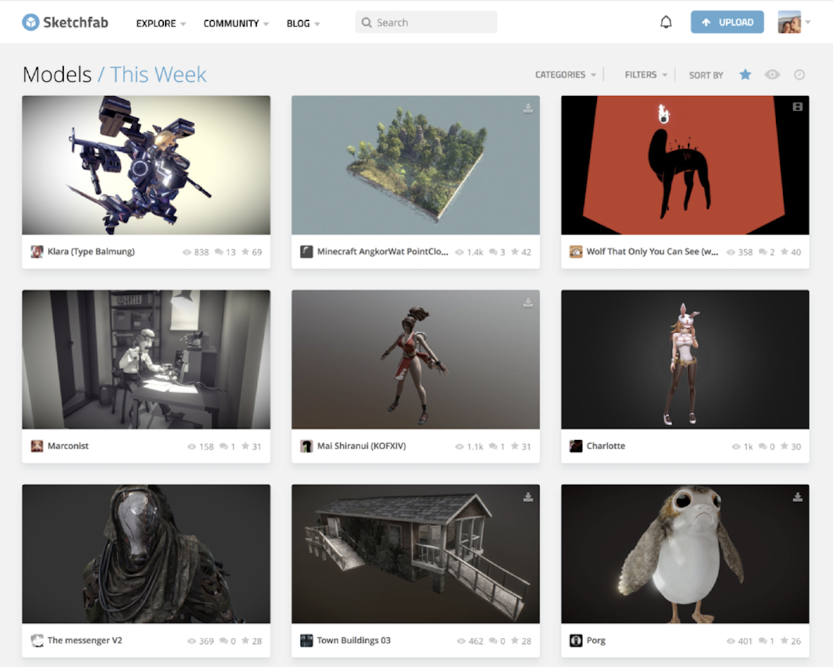 Sketchfab Utilizes Stream's Feed Technology to Increase