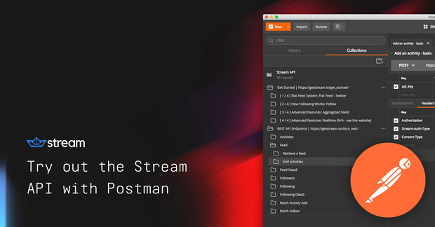Try out the Stream API with Postman - The Stream Blog