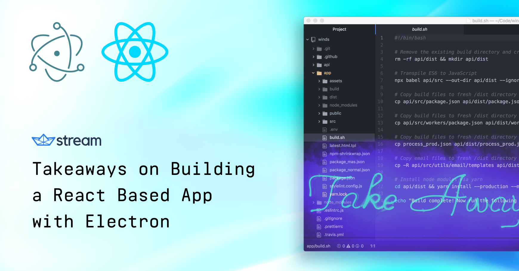 Takeaways on Building a React Based App with Electron - The