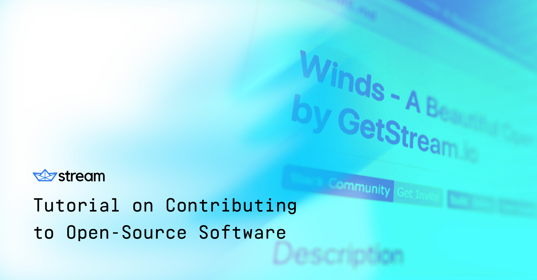 Winds – An in Depth Tutorial on Making Your First Contribution to