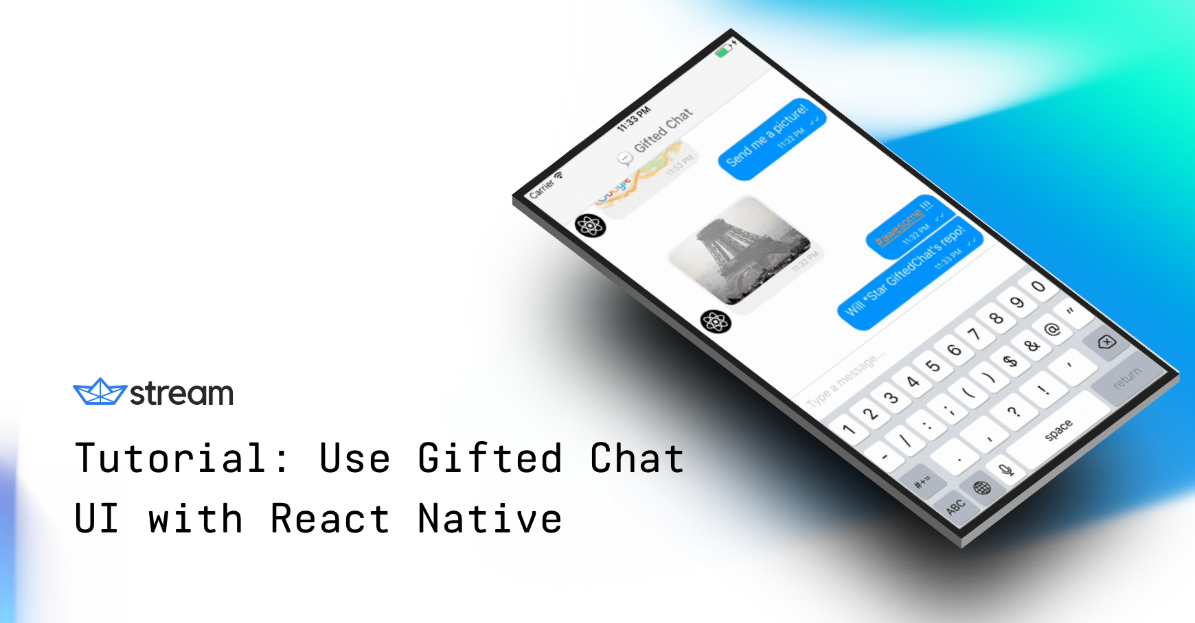 Tutorial: Use Gifted Chat UI with React Native - The Stream Blog
